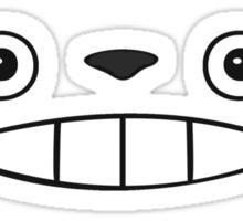 Totoro Face Sticker