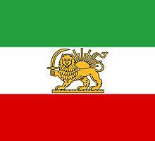 Flag of Iran, 1964-1979  by abbeyz71