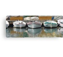 Ripple in Tyre Canvas Print