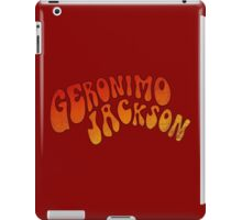 geronimo jackson iPad Case/Skin