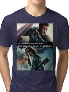 """""""Your Bucky."""" Stucky Art  Tri-blend T-Shirt"""