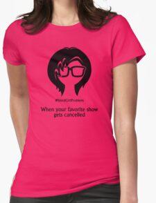 Nerd Girl Problem #6 Womens Fitted T-Shirt