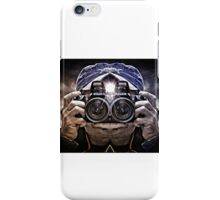 CAMERA HEAD iPhone Case/Skin