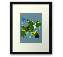 Bubble Man Framed Print