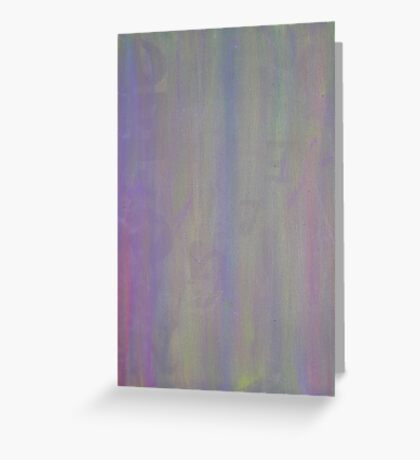 Abstract Blur Of Colors Greeting Card