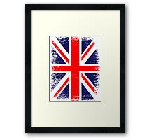 UK Union Jack Vintage Flag  Framed Print