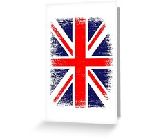UK Union Jack Vintage Flag  Greeting Card