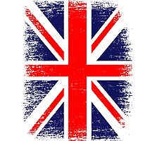 UK Union Jack Vintage Flag  Photographic Print