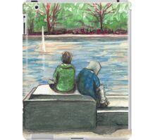 cute kids in the park iPad Case/Skin