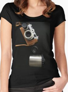 Before Digital Women's Fitted Scoop T-Shirt