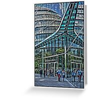 Urban Reflections by Tim Constable Greeting Card