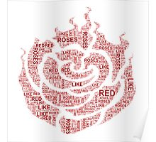 Red like roses Poster
