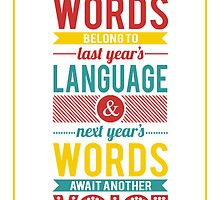 Next Year's Words by daysdesign