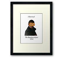 Bagelpocalypse Framed Print