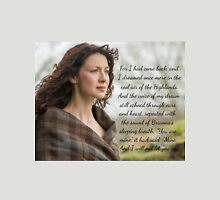 Outlander Quote/Jamie & Claire Fraser Unisex T-Shirt