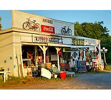 Sunrise On Nippers Grocery Photographic Print