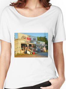 Sunrise On Nippers Grocery Women's Relaxed Fit T-Shirt
