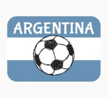Football, Argentina  by piedaydesigns