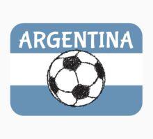 Football, Argentina  by piedaydesigns