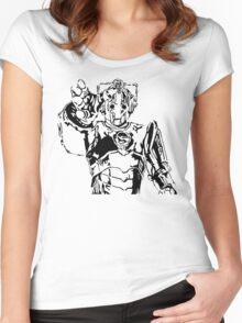 Cyberman Women's Fitted Scoop T-Shirt
