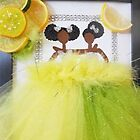 Lemon Lime Greeting Card by Stacy LeGras