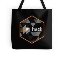 hack programming language hexagon sticker Tote Bag