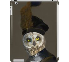The Owl General - Photographic Composite iPad Case/Skin