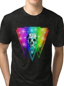 Shattered Skull Retro Tri-blend T-Shirt