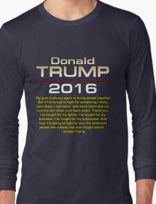 TRUMP FIGHT Long Sleeve T-Shirt