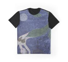 Mermaid, after Chagall Graphic T-Shirt