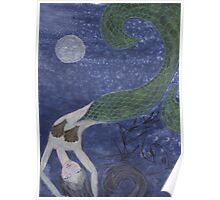 Mermaid, after Chagall Poster