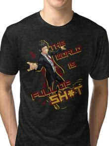 Adachi - Full of Shit Tri-blend T-Shirt