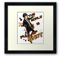 Adachi - Full of Shit Framed Print