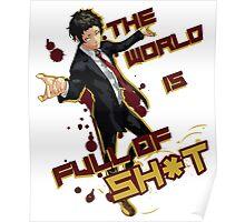 Adachi - Full of Shit Poster