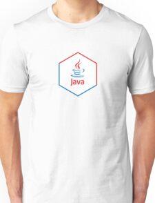 java programming language hexagonal sticker Unisex T-Shirt