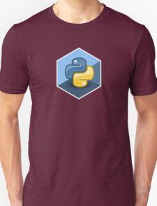 python programming language hexagonal sticker Unisex T-Shirt