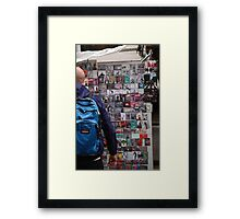 buying london Framed Print