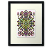 From A Different Space A Jewel Framed Print