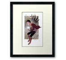 Wings_Merlin Framed Print