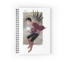 Wings_Merlin Spiral Notebook