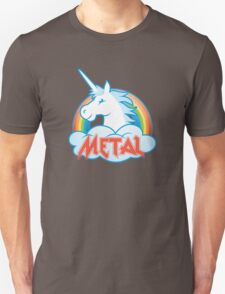 Metal Unicorn Unisex T-Shirt