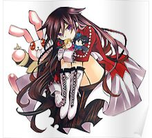 Pandora Hearts - Alice w/ Rabbit Poster