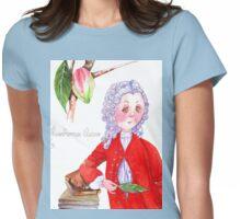 6-Swedish naturalist, Carolus Linnaeus Womens Fitted T-Shirt