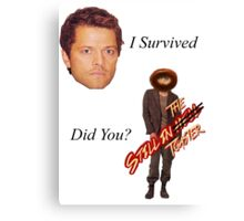Survived Canvas Print