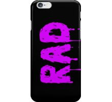 Totally Rad - Purple iPhone Case/Skin