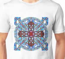 Hot Cross Pattern Over Cold Knots Unisex T-Shirt