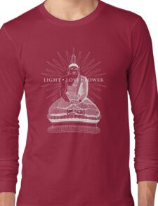 Buddha Light Love Power Long Sleeve T-Shirt