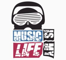 Music is my life Design T-Shirt