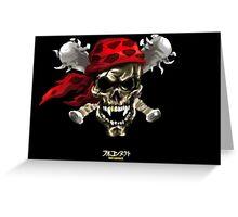 skull&bones Greeting Card