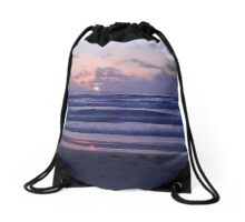 South Padre Island Sunrise Drawstring Bag